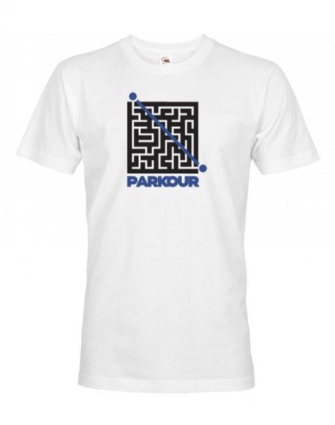 Pánské tričko - Parkour bludiště