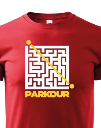 Dětské tričko - Parkour bludiště