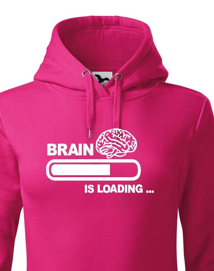Dámská mikina - Brain Loading
