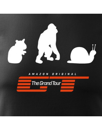 Pánské Tričko Hamster, Orangutan, Captain slow
