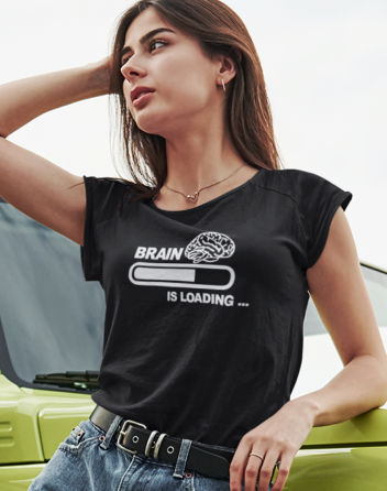 Dámské tričko Brain is loading...