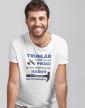 Pánské tričko - Nejtěžší na mé práci je