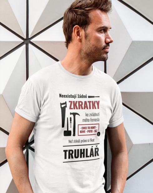Pánské tričko - Neexistují žádné zkratky
