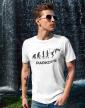 Pánské tričko - Parkour evoluce