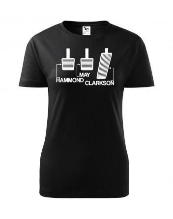 Dámské tričko pedály Grand Tour