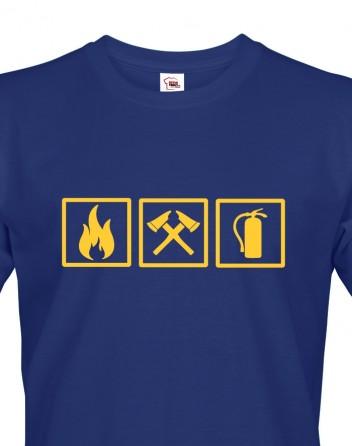 Pánské tričko - Hasič