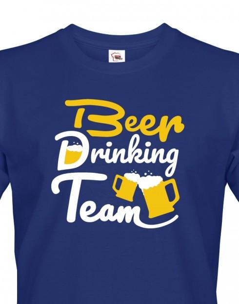 Pánské tričko - Beer drinking team