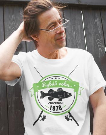 Tričko pro rybáře k narozeninám
