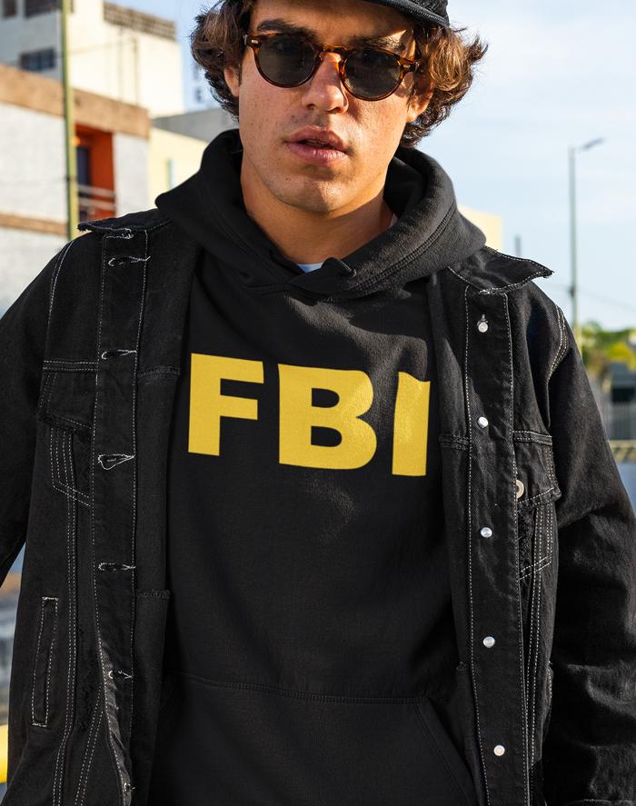 Pánska mikina - FBI
