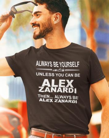 Pánské tričko - Alex Zanardi