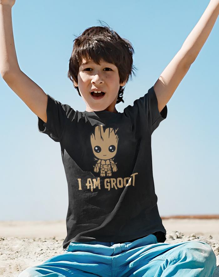 Dětské tričko Groot z filmu Strážci galaxie 2