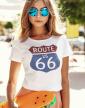 Dámské tričko - Route 66