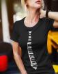Dámské tričko - Kravata klavír
