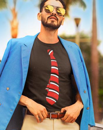 Pánské tričko - Kravata