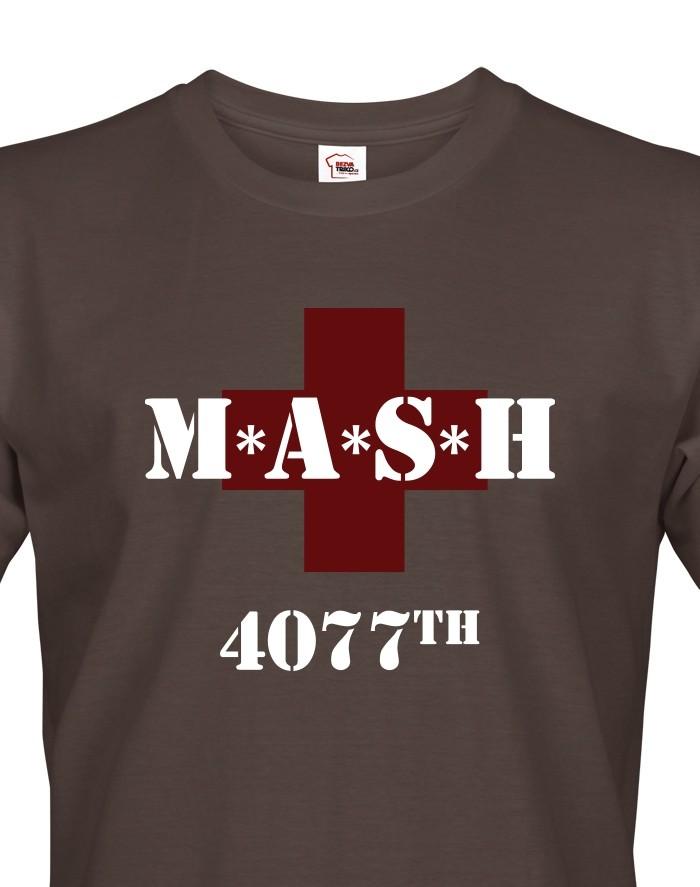 Pánské Tričko s potiskem MASH 4077