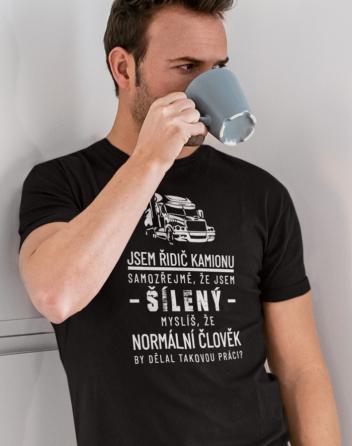 Pánské tričko - Jsem řidič kamionu