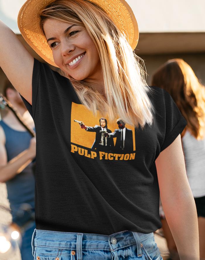 Dámské tričko - Pulp Fiction