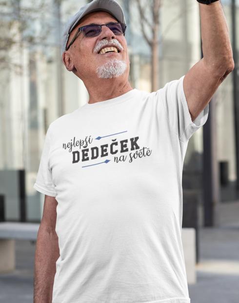 Tričko nejlepší dědeček na světě