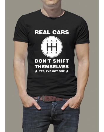 Pánské tričko Real cars