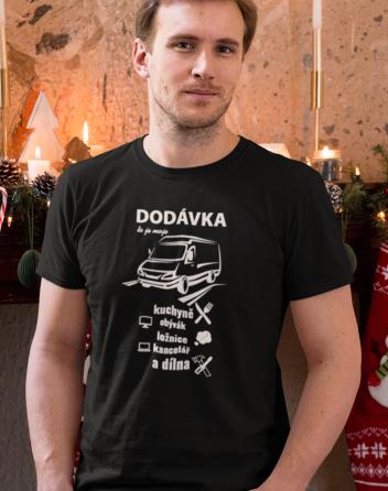 Pánské tričko - Dodávka to je moje