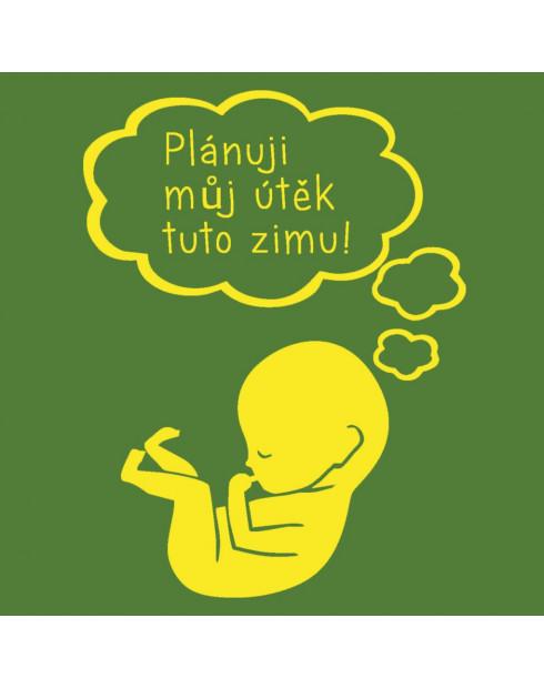 Těhotenské tričko Otisky