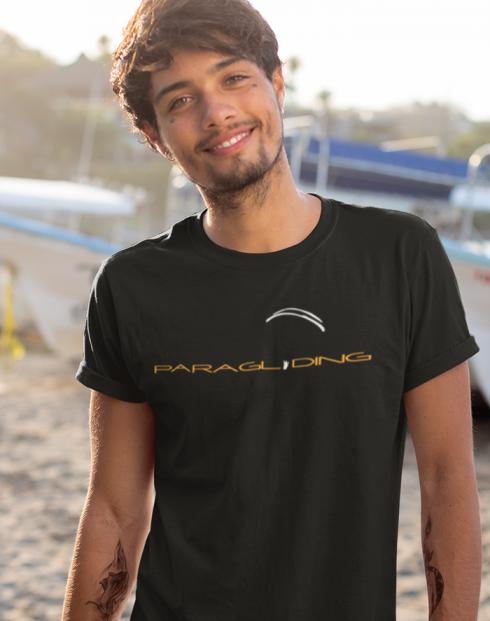 Tričko pro fanoušky paraglidingu 3