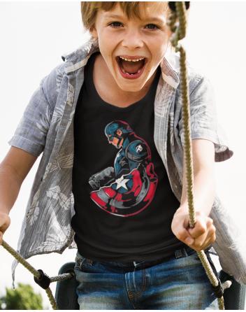 Dětské tričko Kapitán Amerika 2