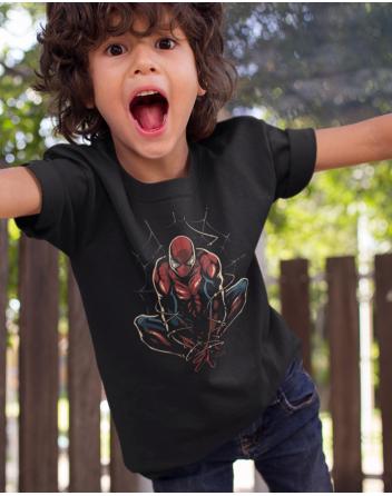 Dětské tričko Spider man