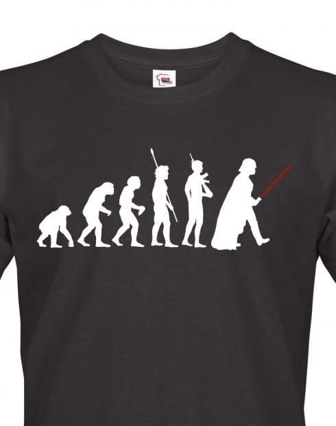 Pánské tričko evoluce Star Wars