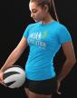 Dámské tričko - Evolution volleyball
