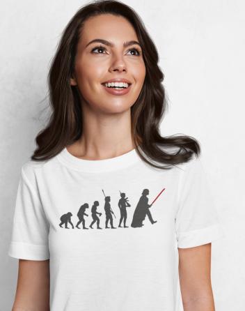 Dámské tričko evoluce Star Wars