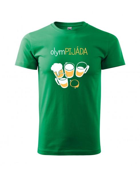 Pánské  tričko s potiskem Olympijáda