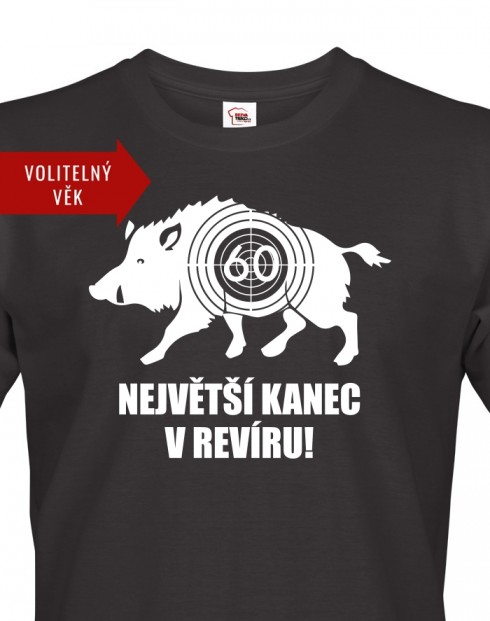 Pánské tričko k narozeninám Kanec
