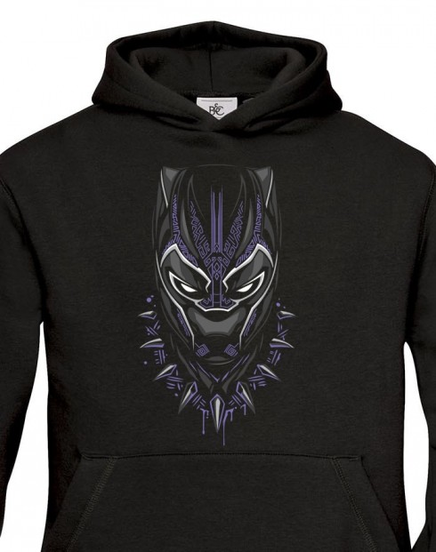 Dětská mikina s potiskem Black Panther
