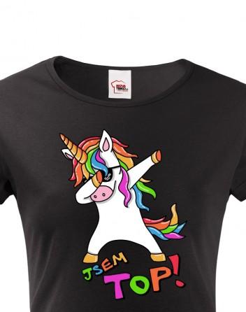 Dámské tričko - Jsem top!