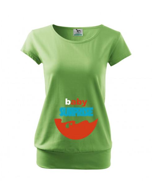 Těhotenské tričko Baby Surprise