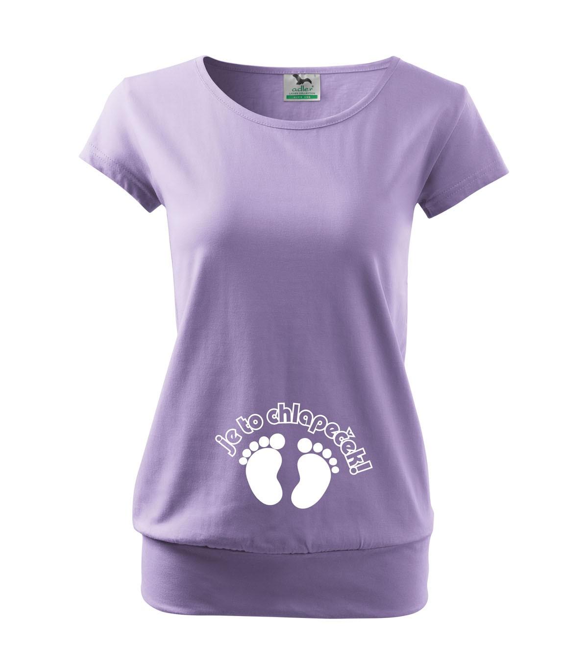 Vtipné těhotenské tričko Je to chlapeček - kluk 743f9b43f0