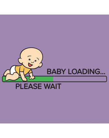 Těhotenské tričko Baby loading 2
