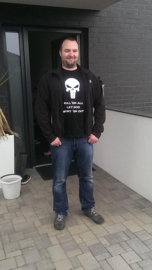 Tričko s vlastním potiskem Warhammer