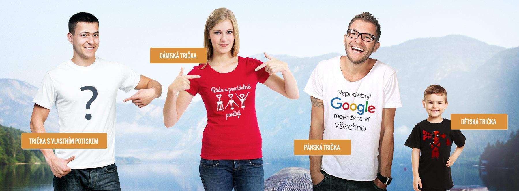 3bc275e68593 Vtipná trička s potiskem a vtipnými motivy - BezvaTriko.cz